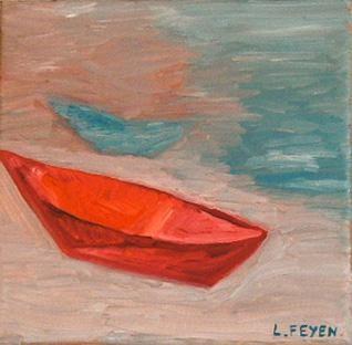 Laure Feyen - barque rouge