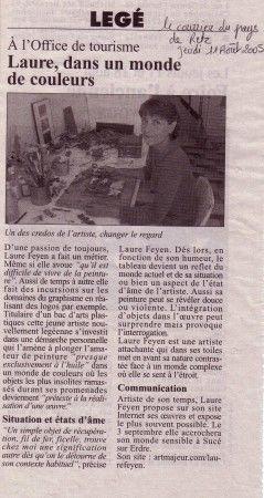courrier du pays de Retz du 11/08/05